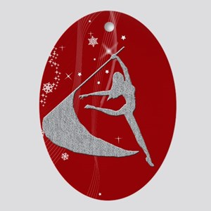 Colorguard Holiday Oval Ornament